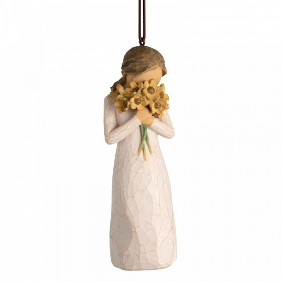 Willow Tree Warm Embrace Ornament - kerstboomhanger