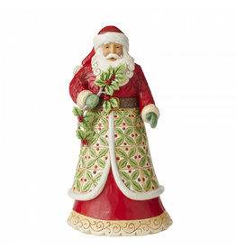 Jim Shore Santa with Holly