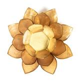 Lotus kaarshouder - smoked (rookwit)