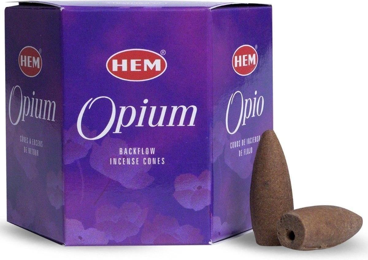 HEM Backflow wierookkegels Hem - opium