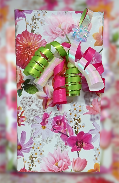 Inpakpapier bloemen