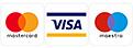 Logo visa maestro mastercard
