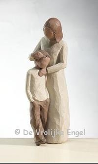 Willow Tree beeldje Mother & Son