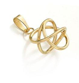 Gouden Akaija (18 kt) hanger