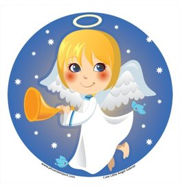 Raamsticker Cute Little Angel Gabriël