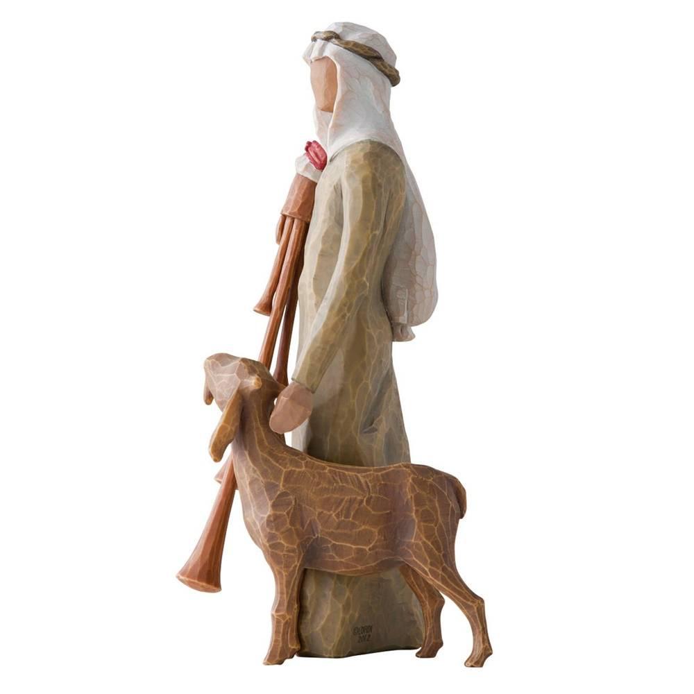 Willow Tree kerstbeeldje Zampognaro (herder)
