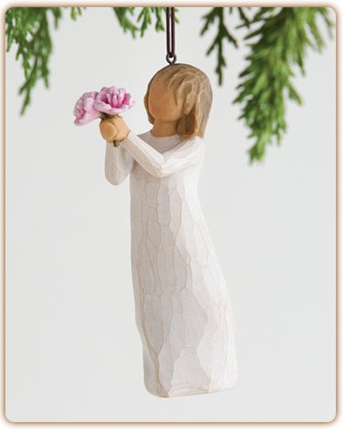 Willow Tree Thank You Ornament kerstboomhanger