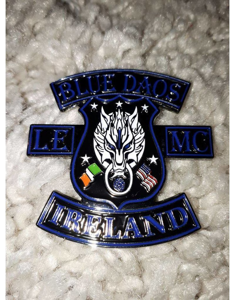 Blue Daos Special made pin