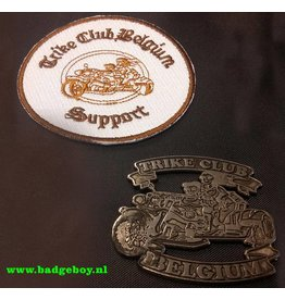 Trike Belgium  club pin en patch