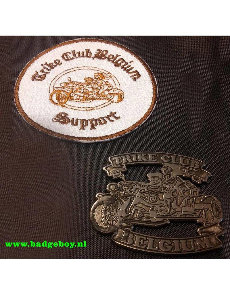 Trike Belgium  club pin en patch