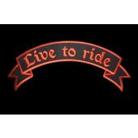 Live to Ride Orange