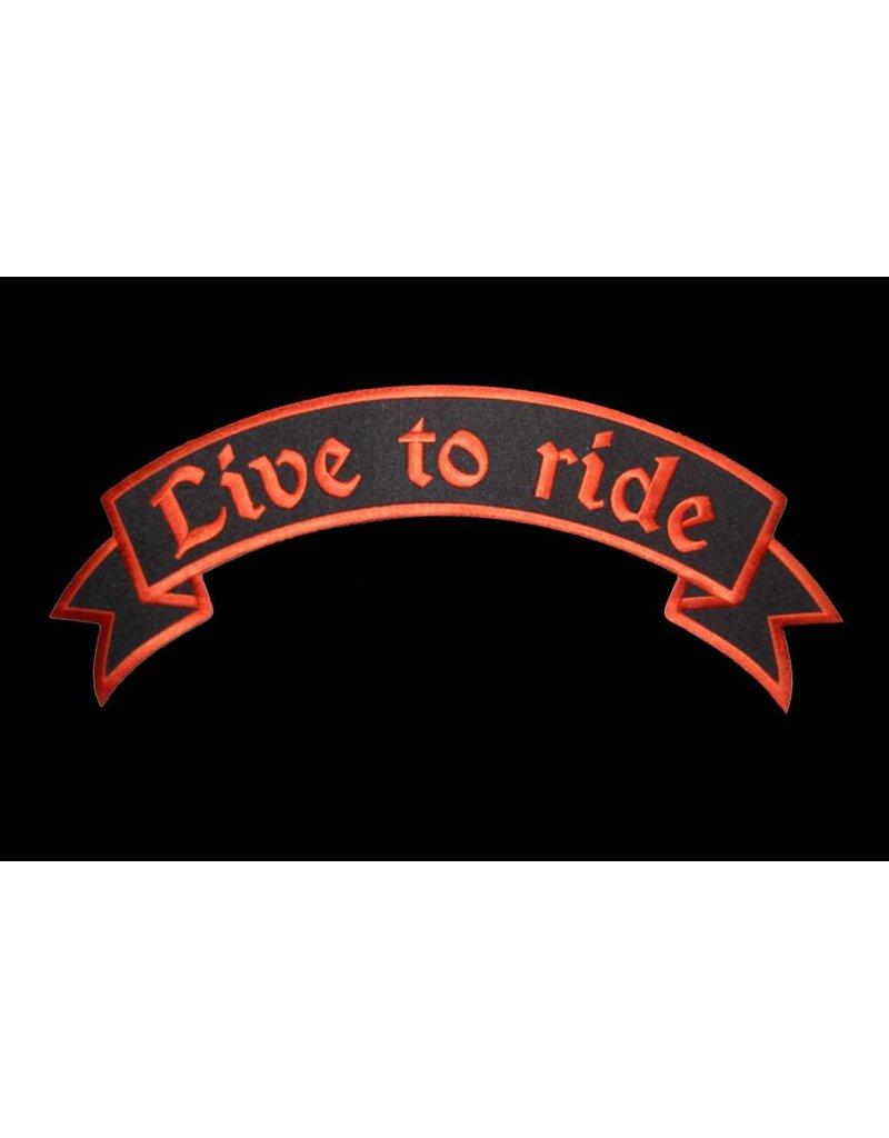Ride to Live orange