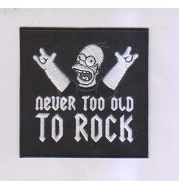 Badgeboy Never to old to rock