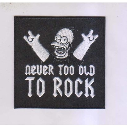 Never to old to rock