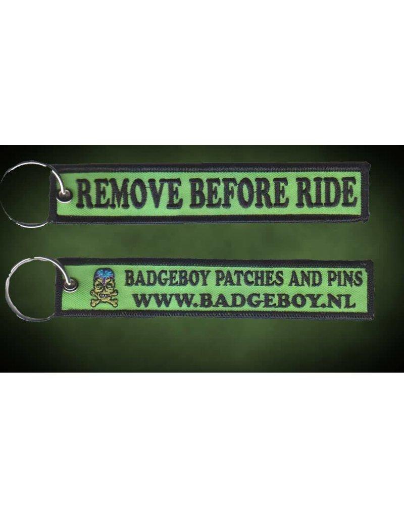 Badgeboy Lock reminder