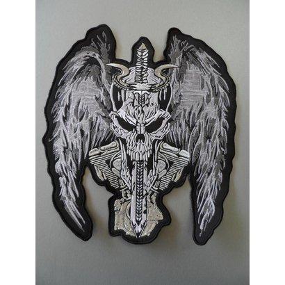 Badgeboy The Devils Angel Silver