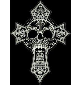 Badgeboy Skull and Cross