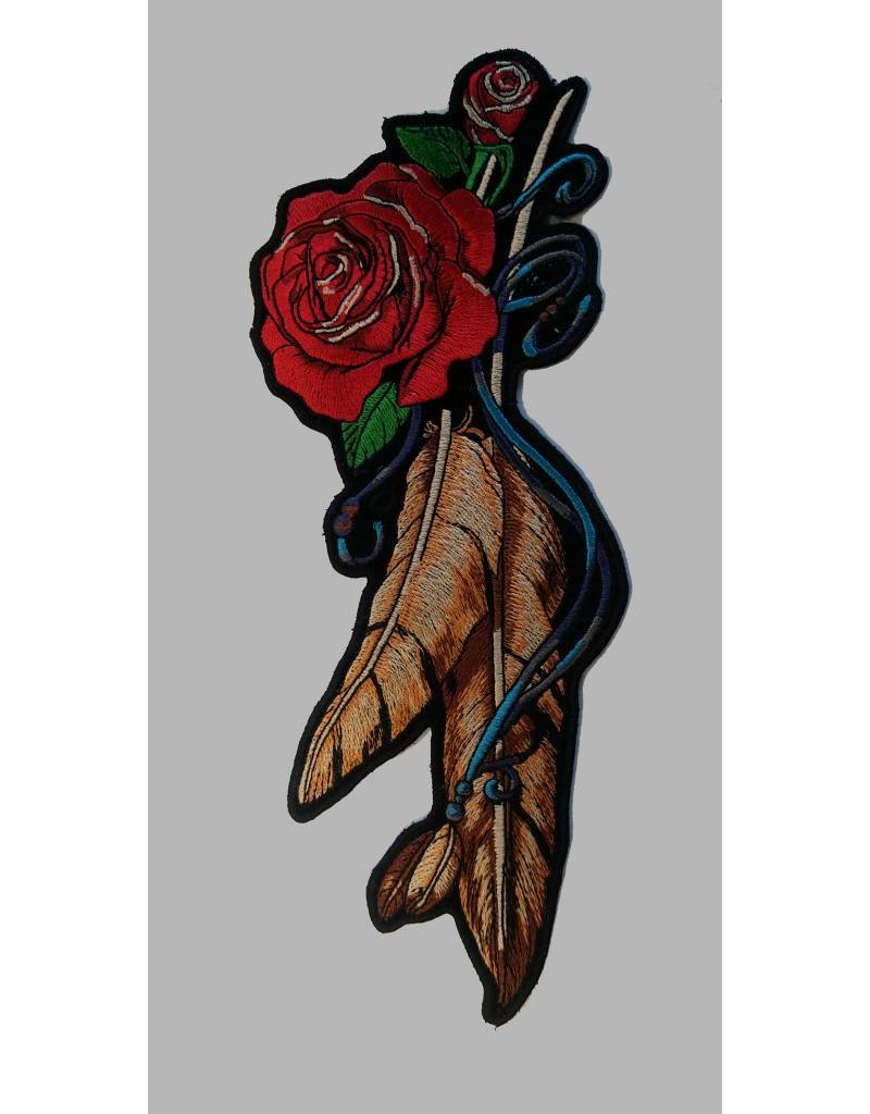 Lady feather rose medium
