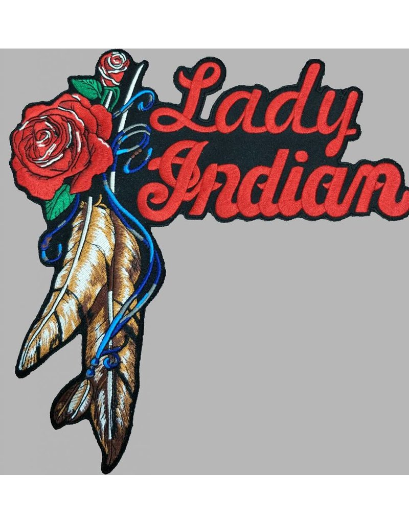 Indian Lady patch