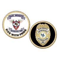 Blue knights Challenge coin NOT FOR SALE