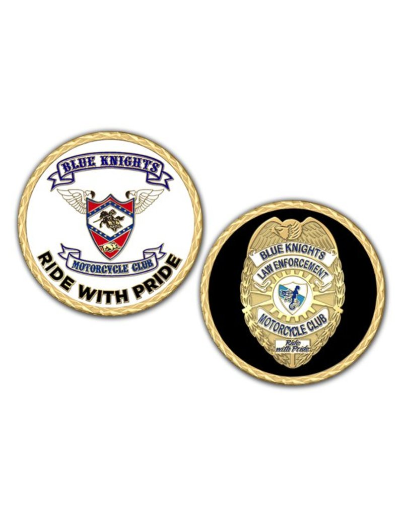 Blue knights Challenge coin