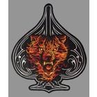 Badgeboy Wolf Spade Orange