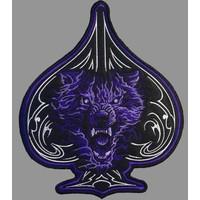 Badgeboy Wolf of Spade Blue