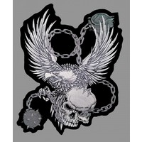 Badgeboy Eagle and Skull
