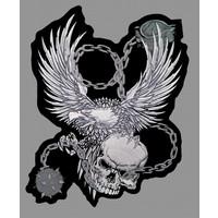 Badgeboy Eagle and Skull