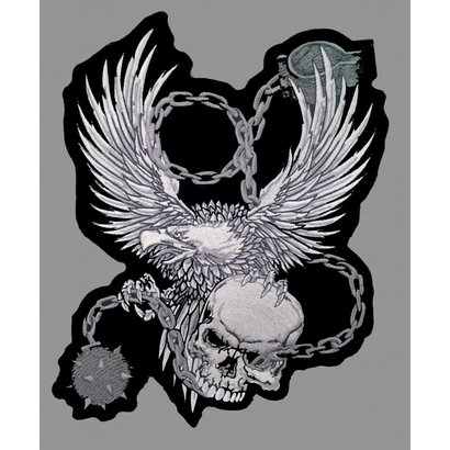 Badgeboy Eagle and Skull patch 30 cm