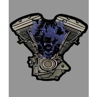 Badgeboy Engine and Wolf