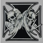 Badgeboy Iron Cross Angel and Devil