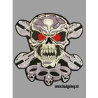 Badgeboy Skull and Knuckels