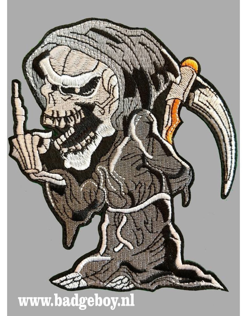 Badgeboy Salute reaper patch 20 cm high