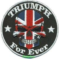Badgeboy Triumph Skull