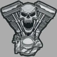 Badgeboy Screaming Skull