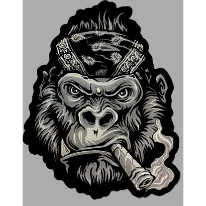 Badgeboy The Gorilla patch