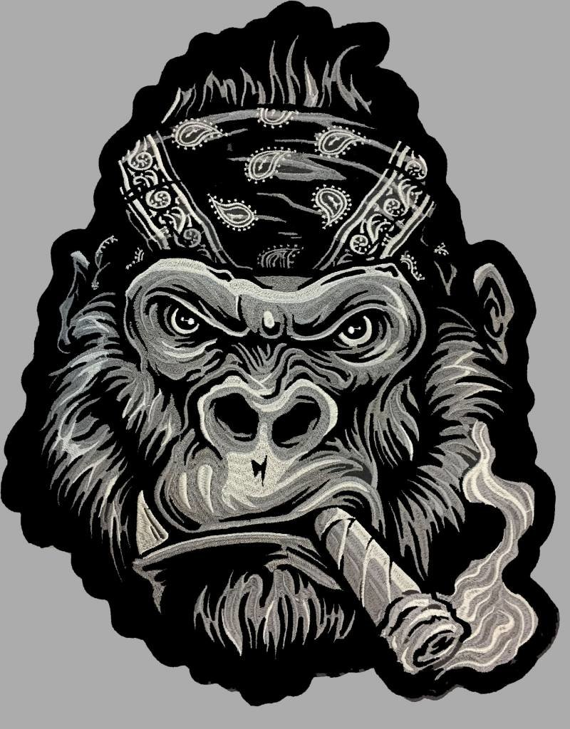 Badgeboy The Gorilla Patch small