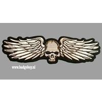 Badgeboy Skull wing patch