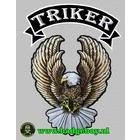 Badgeboy Tiker Eagle Patch set