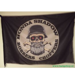 Badgeboy Honda Bobbers club flag