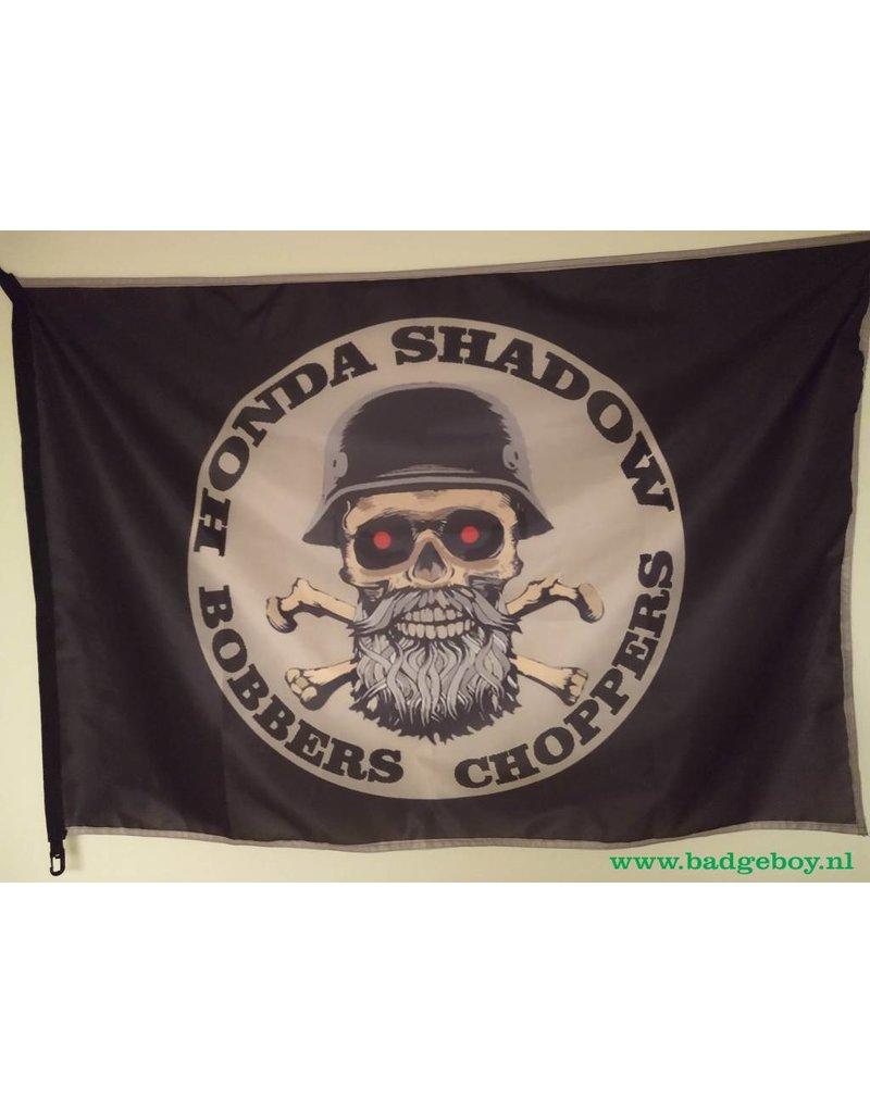 Badgeboy Honda Bobbers club flag