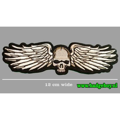 Badgeboy Skull wing small