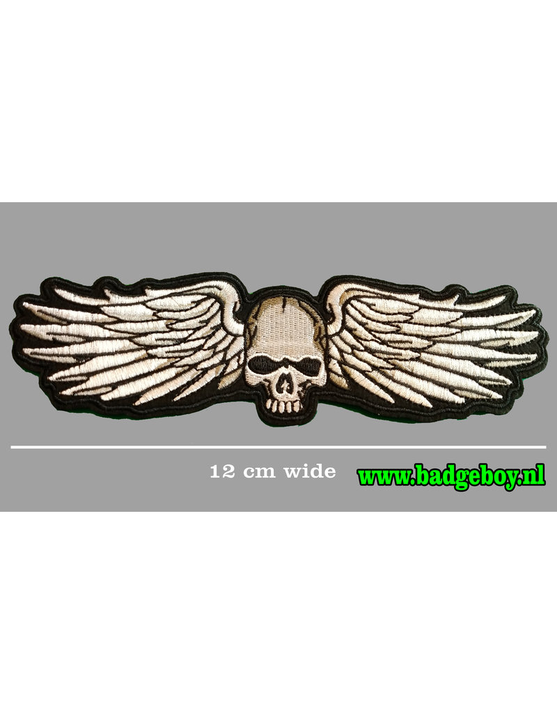 Badgeboy Skull wing small