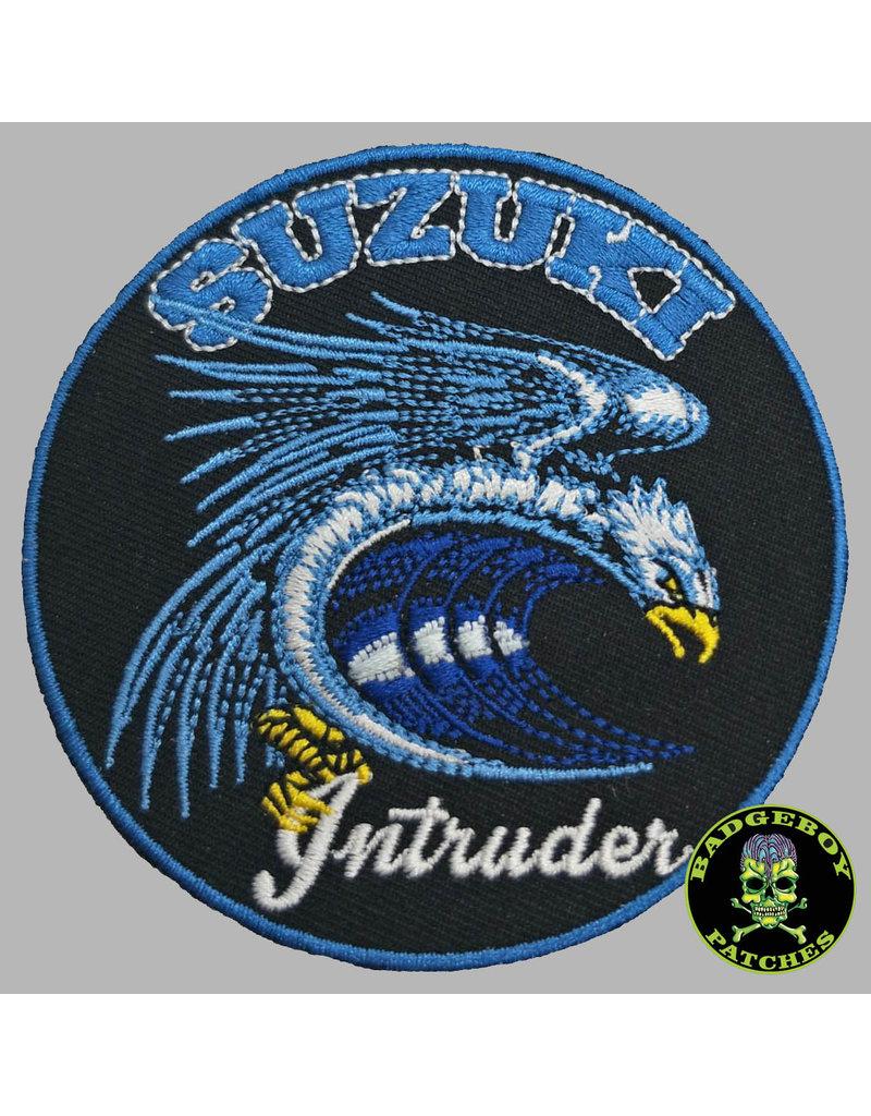 Badgeboy Suzuki intruder patch small 8cm
