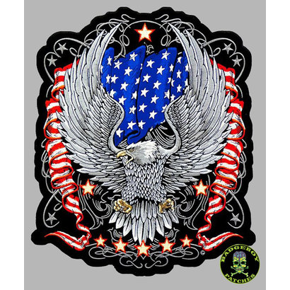 Badgeboy American Eagle small 9 cm
