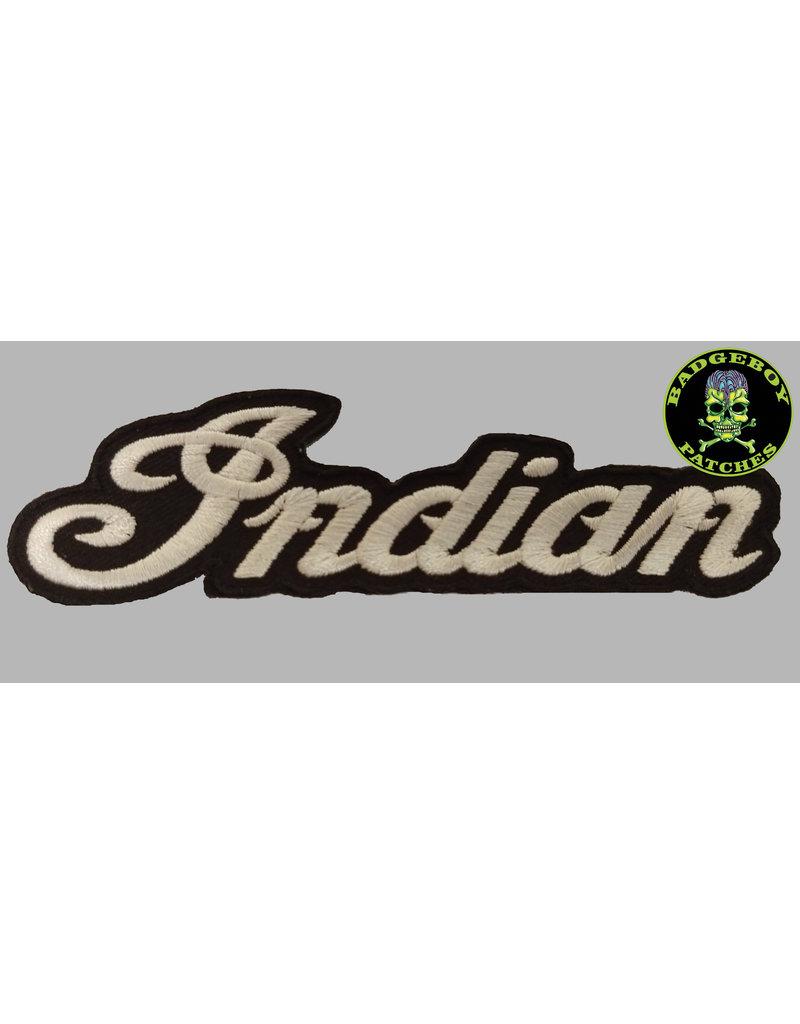Badgeboy Indian 12 cm wide