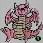 Badgeboy Pink Dragon small