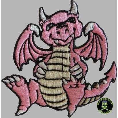 Badgeboy Pink Dragon small 8 cm