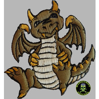Badgeboy Green dragon small